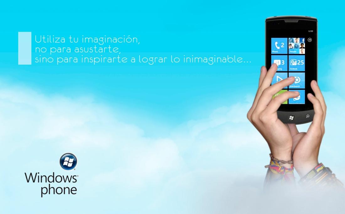 Publicidad Windows Phone 7 - Creativo Juan José Morales Ruiz